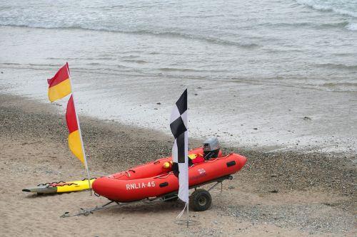 lifeguard boat sea