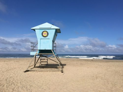 lifeguard beach water
