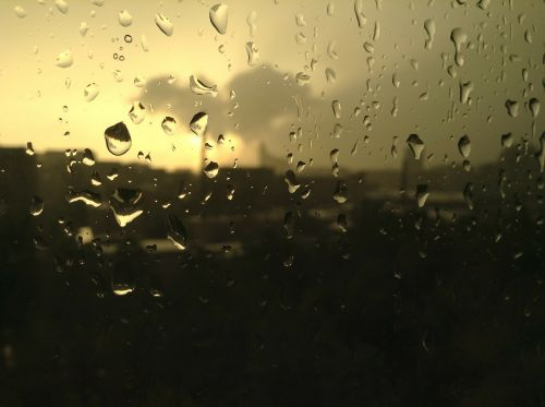 light thunderstorm tears