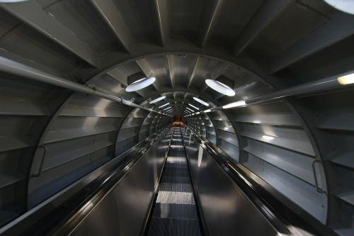 light tunnel away