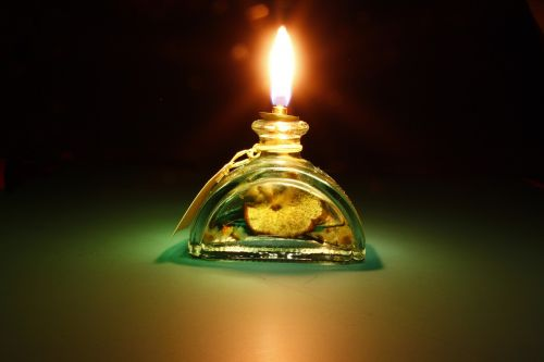 light,oil light,green,glass,burn,bill,fragrance,scented lights
