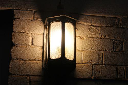 light lamp rustic