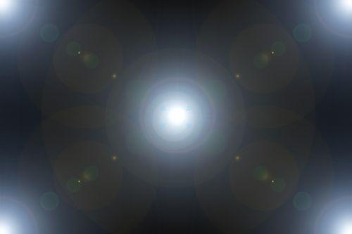 light lichtreflex circles of light