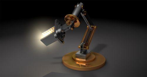 light lamp robot