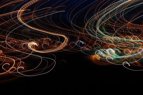 light curves long exposure