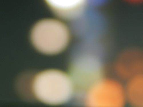 light blur abstract