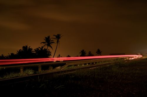 light night trail