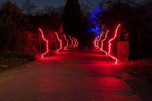 light illuminated movement