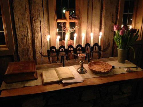 light holy communion church