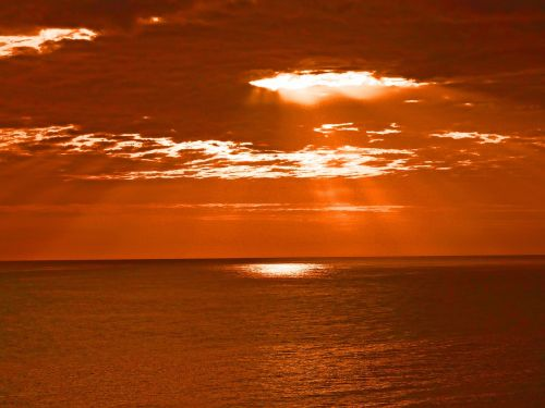 light water sunbeam