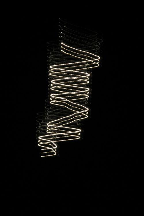 light spiral darkness