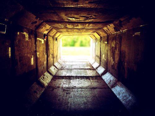 light tunnel urban