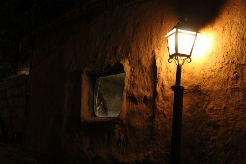 light lantern night