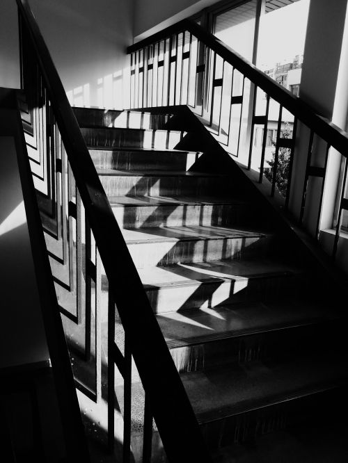 light and shadow light and shade stairs