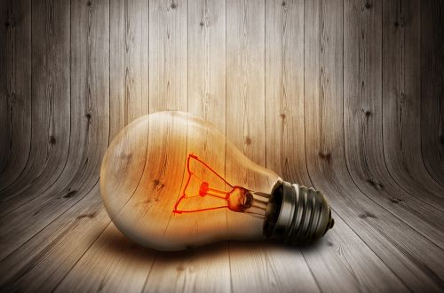 light bulb light current