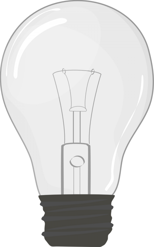 light bulb clip art idea