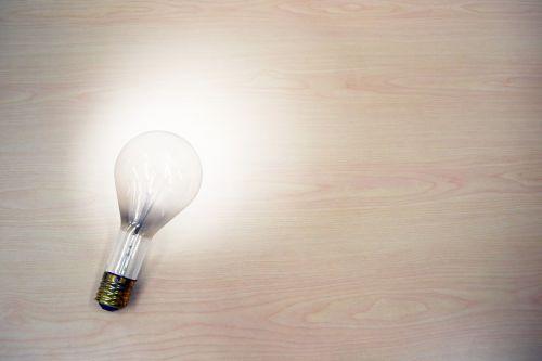 light bulb idea light