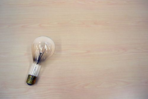 light bulb idea light