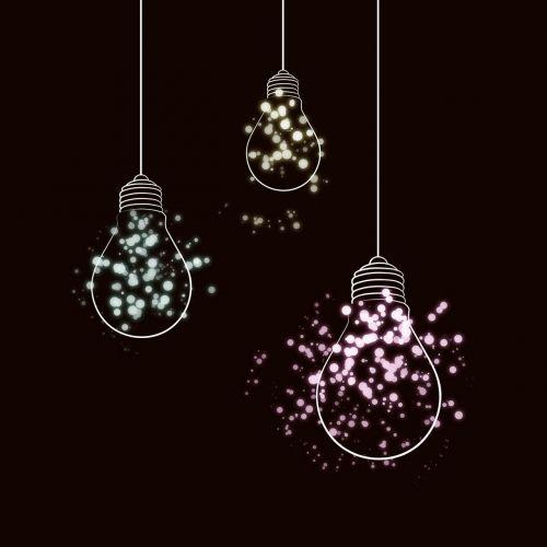 light bulb light shed light