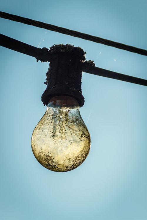 light bulb lichterkette outdoor