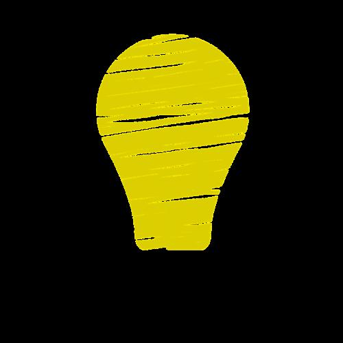 light bulb idea genius