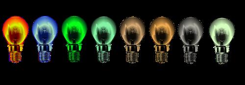 light bulb light energy