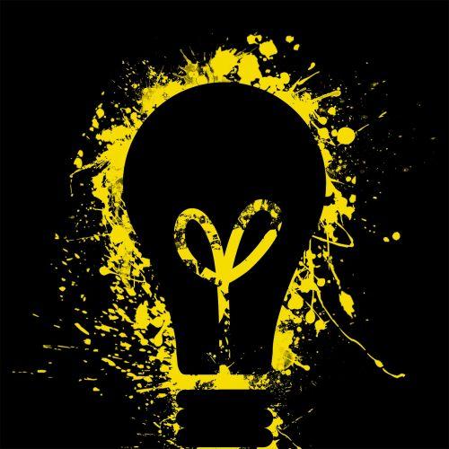 light bulb light electricity