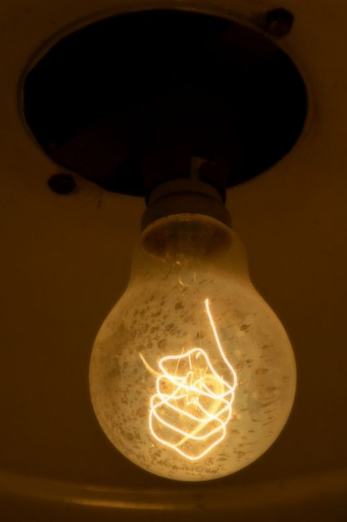 light bulb edison lamp