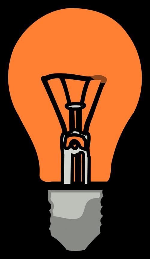 light bulb electric power