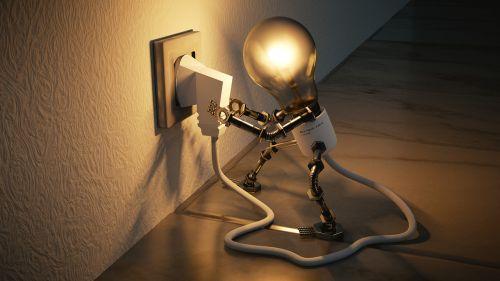 light bulb idea self employed