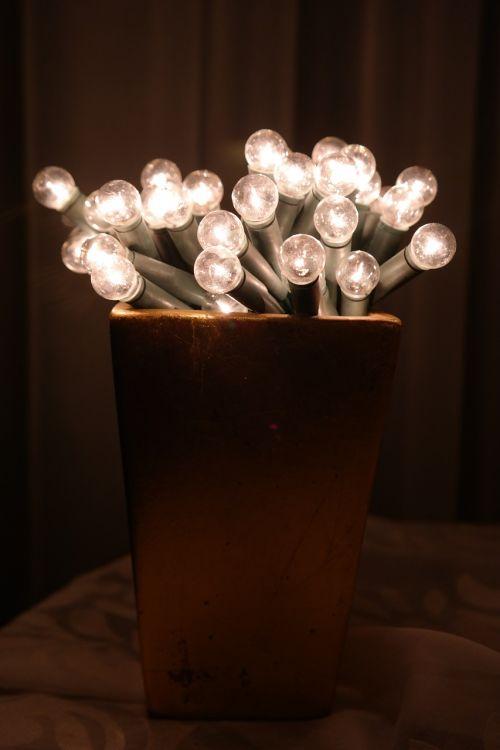 light bulbs christmas decorations light