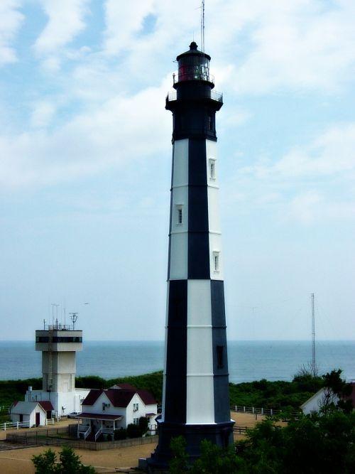 light house ocean tower