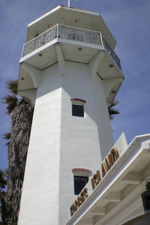 light house white beacon