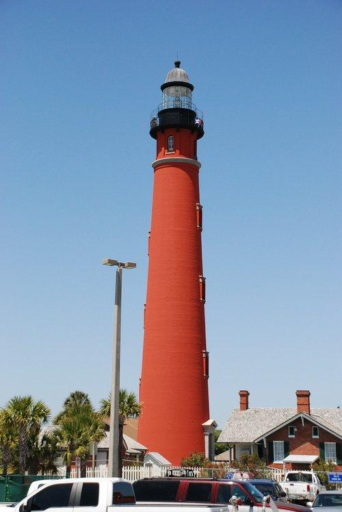 light house  shore  navigation