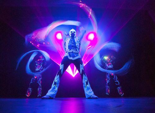 magician light show lightshow