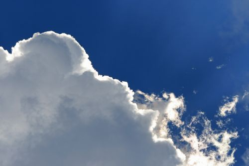 Light On Edge Of Cloud