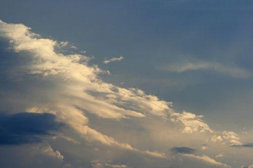 Light On Slanted Cloud