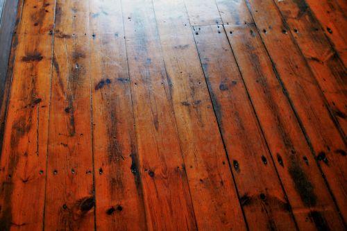 Light On Wooden Plank Floor