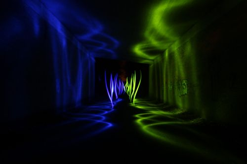 light painting color colorful