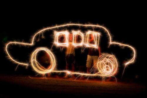 light painting sparklers sparkler writing