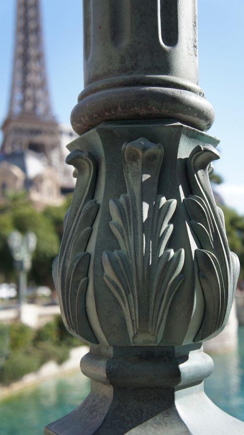 light post lamp post eiffel tower