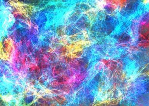 Light Wave Scratch Background