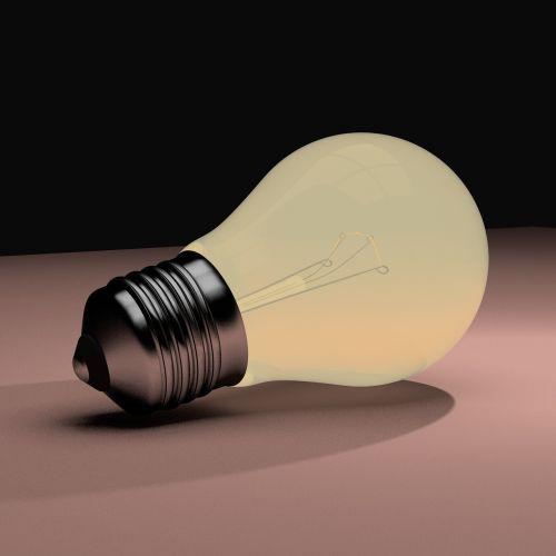 lightbulb blender 3d