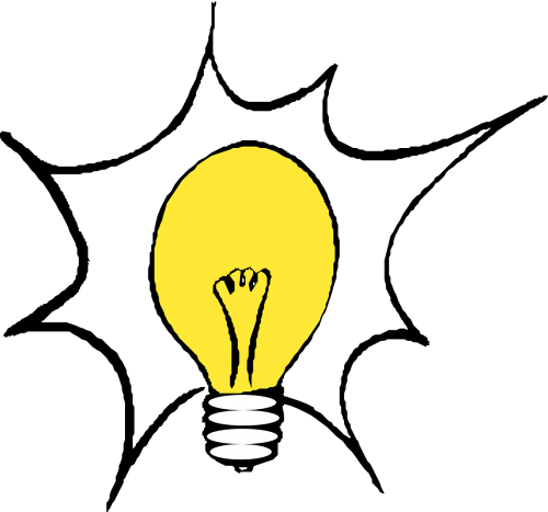 lightbulb electric light bright idea