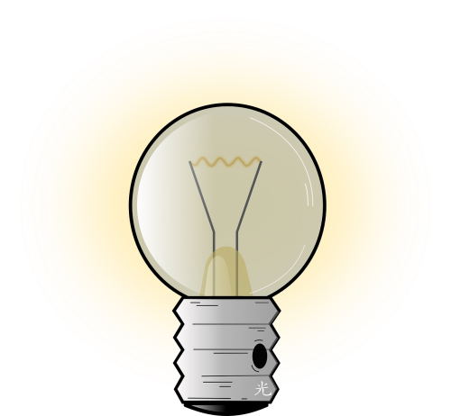lightbulb incandescent electricity