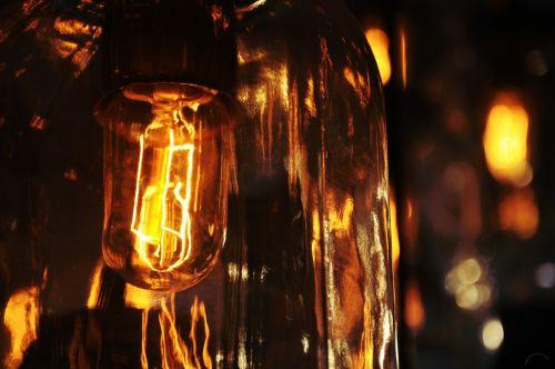 lightbulb glow electric