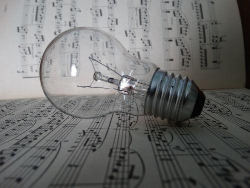 lightbult notes light