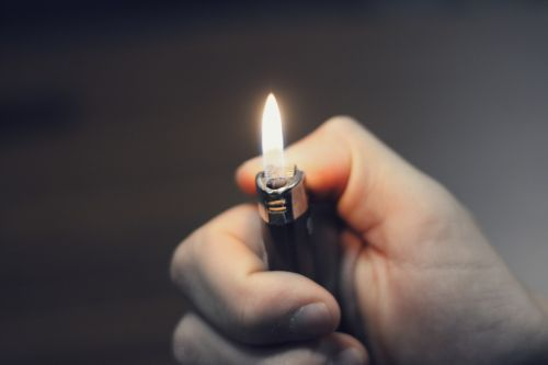lighter flame light