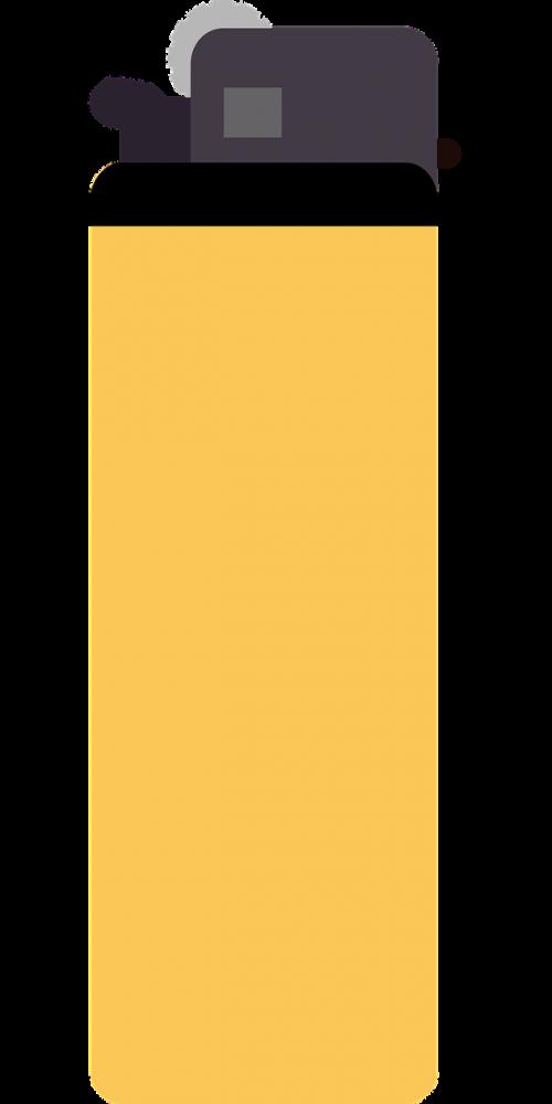 lighter yellow cigarette