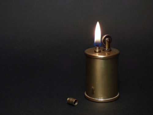 petrol lighter lighter flame